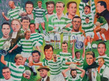 Celtic Legends Print